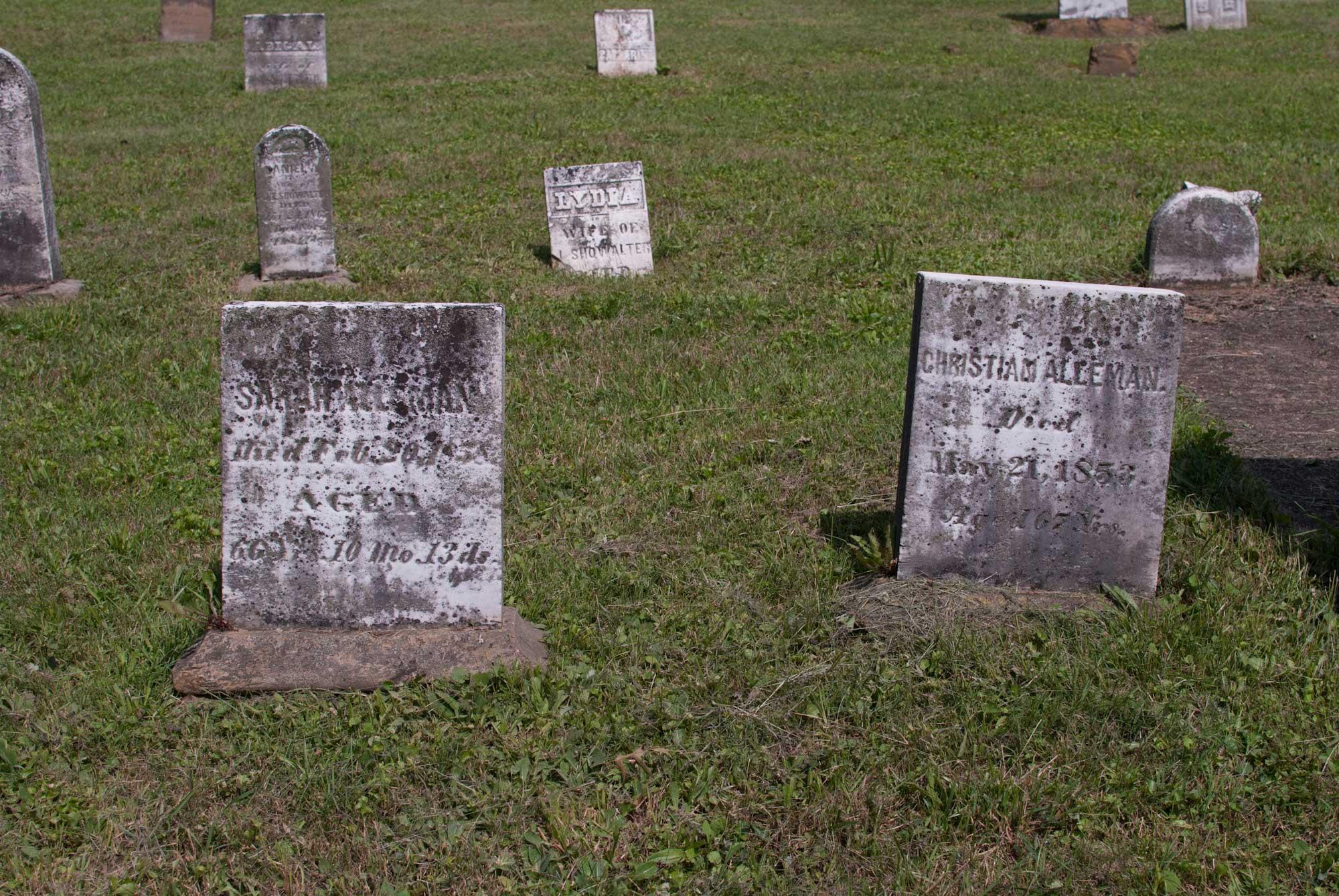 Salem Lutheran Cemetery, Wayne Township, Wayne, Ohio