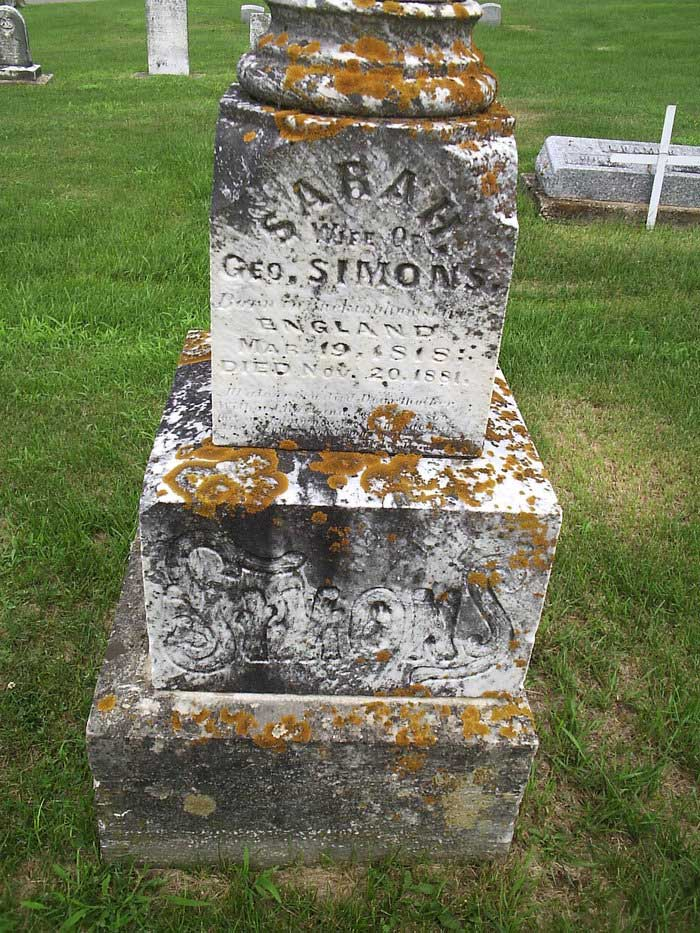 Evergreen Cemetery, Delhi, Delaware, Iowa