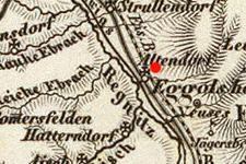 Buttenheim, Germany on 1856 map © 2000 Cartography Associates (DavidRumsey.com)