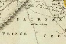 Spotsylvania Co., VA on 1776 map © 2000 Cartography Associates (DavidRumsey.com)