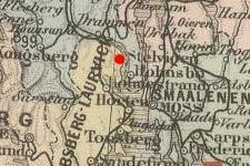Svelvik, Norway on 1892 map © 2000 Cartography Associates (DavidRumsey.com)