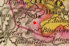 Vöhringen, Germany on 1828 map © 2000 Cartography Associates (DavidRumsey.com)